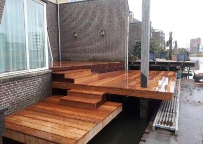 Vlonders in Den Haag